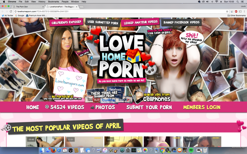 LoveHomePorn